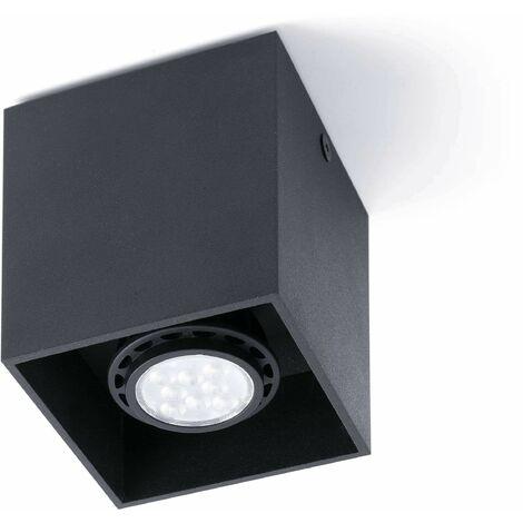 "main image of ""Black ceiling light Tecto 1 bulb"""