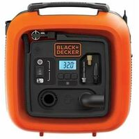 Black & Decker 11 Bar Gonfleur-compresseur - ASI400-XJ