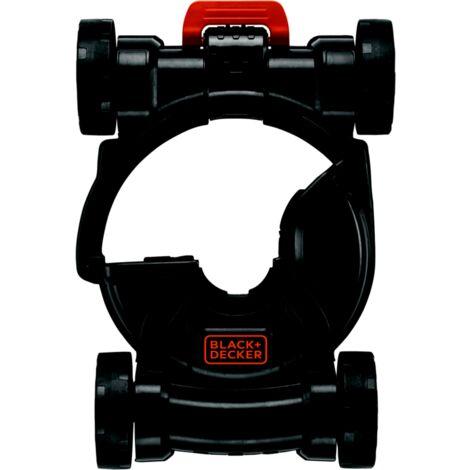BLACK+DECKER 3-in-1 Multi-Trimmer-Basis CM100, Rollen, schwarz