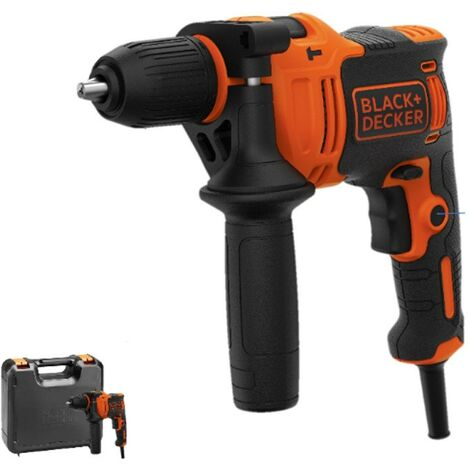 Black & Decker 710w Hammer Drill Percussion Drill 13mm Chuck Cased BEH710K-GB