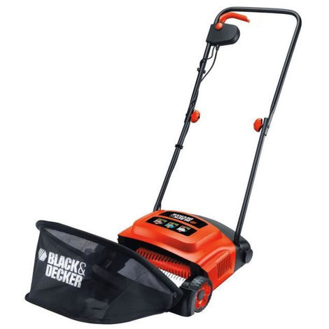 black&decker scarificateur
