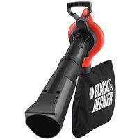 Black & Decker Aspirateur souffleur avec fonction broyeur GW2810 3-en-1 2800 Watt Electrique