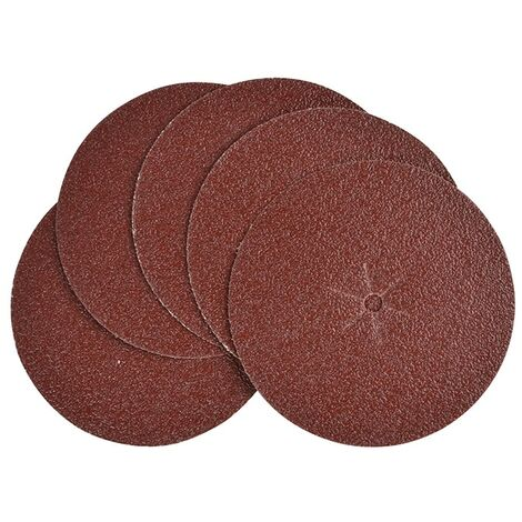 Black & Decker B/DX32640 Sanding Discs 125mm 40G (Pack 5)