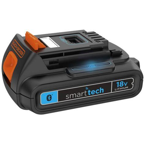 Black + Decker Batterie Lithium 18V SMART TECH 2Ah