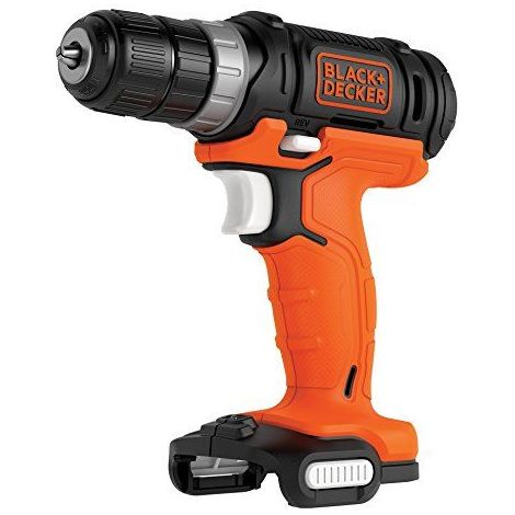 BLACK+DECKER BDCDD12USB-XJ Perceuse Visseuse sans Fil, 12 V, Noir