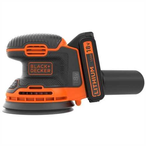 Black & Decker BDCROS18 Ponceuse excentrique 18V 125mm