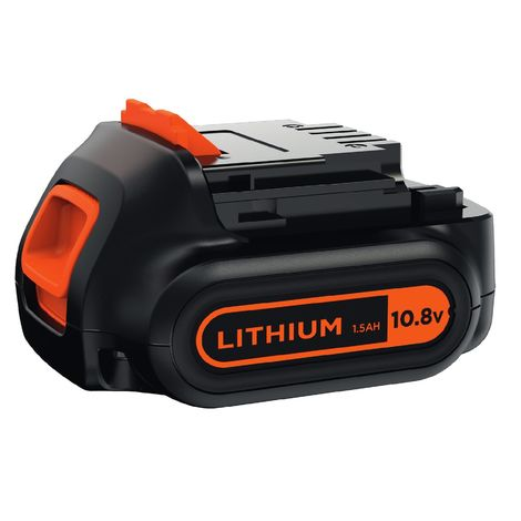 BLACK+DECKER BL1512-XJ Batteria al Litio, 10.8 V, 1.5 Ah