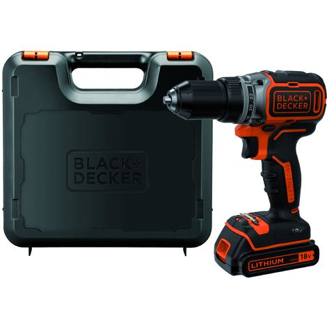 BLACK+DECKER BL186K-QW Trapano Avvitatore Brushless
