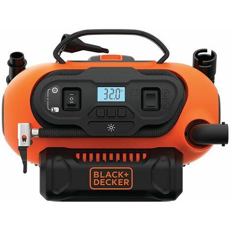 Black & Decker Compresseur 11 bar, sans batterie et chargeur, dans le carton - BDCINF18N-QS