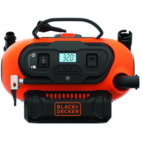 Black & Decker Compressore portatile, 11 bar - BDCINF18N-QS