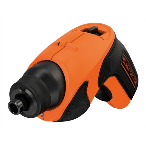 Black & Decker Cordless Battery Compact Screwdriver 3.6V LED Joblight CS3651LC
