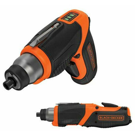 Black & Decker CS3653LC-GB 3.6V 1.5Ah Li-Ion Cordless Screwdriver with LED Worklight