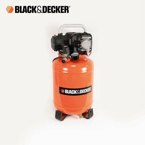 Black & Decker Druckluft Kompressor 24L ölfrei BD 195/24V 1,1 kW 10 bar 180 l/min