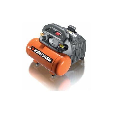 Black & Decker Druckluft Kompressor 6 l BD 55/6 ölfrei 0,3 kW 8 bar 50 l/min