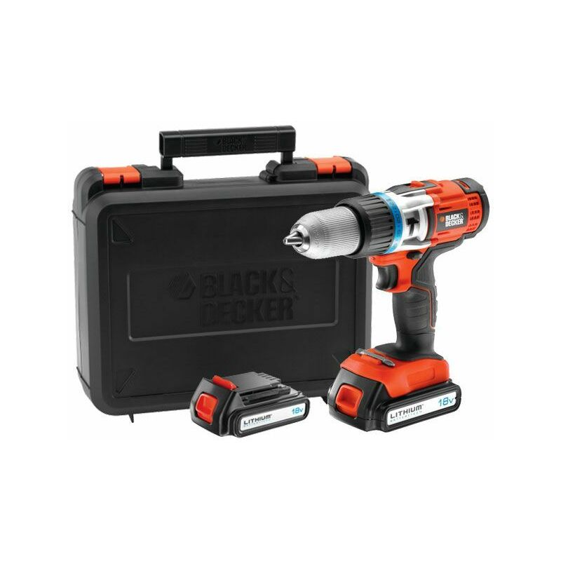 Black & Decker EGBHP188BK Perceuse haute performance 18V Lithium
