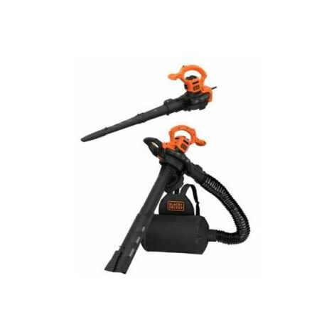 Black + Decker Elektro-Laubsauger, 2900W, 3in1 - BEBLV290-QS