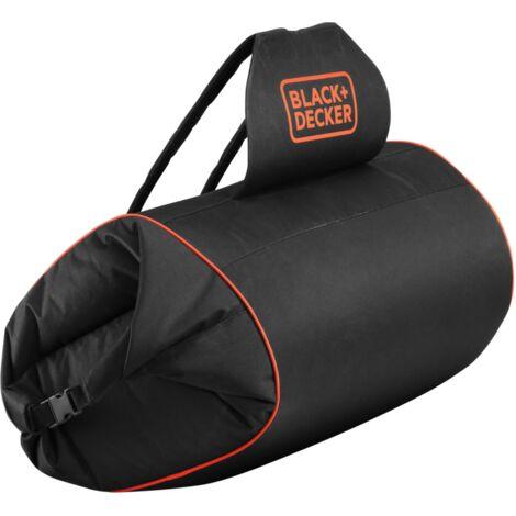 BLACK+DECKER Ersatz-Laubfang-Rucksack GWBP1, mit Schlauch, Fangsack, schwarz
