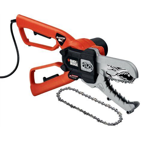 Black & Decker GK1000 Alligator 10cm Chainsaw Lopper Pruner 550w + Spare Chain
