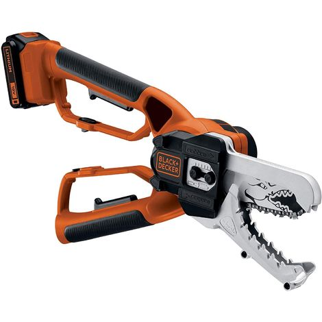 Black & Decker GKC1000L Coupe-branches Alligator® sans fil 18V – 2Ah avec batterie et chargeur