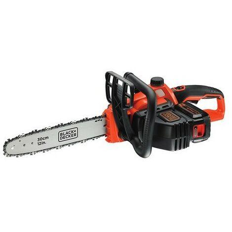 Black & Decker GKC3630L20 Cordless Chainsaw 30cm Bar 36 Volt 1 x 2.0Ah Li-Ion