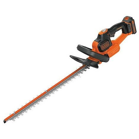 Black & Decker GTC18452PC 18v Li-Ion POWERCOMMAND Cordless Hedge Trimmer Cutter