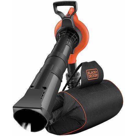 "main image of ""BLACK+DECKER GW3031BP Aspirateur souffleur broyeur 3000W avec sac à dos"""