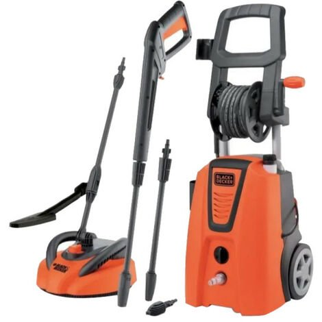 BLACK & DECKER high-pressure cleaner - Fixed nozzle/Terrace - 140 bar