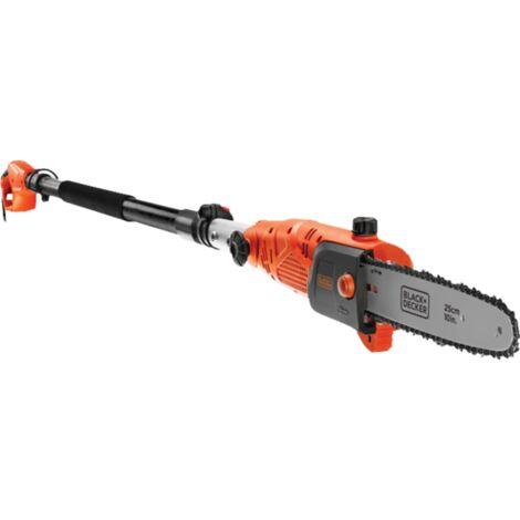 BLACK+DECKER Hoch-Entaster PS7525, Hochentaster, orange/schwarz, 800 Watt