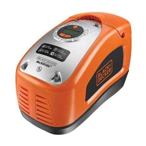 BLACK+DECKER Kompressor ASI300-QS, 11bar, Luftpumpe, orange/schwarz, 12 Volt