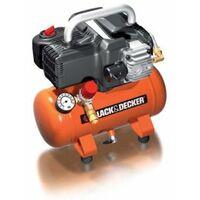 Black & Decker Kompressor mit 6 Liter Tank, ölfrei