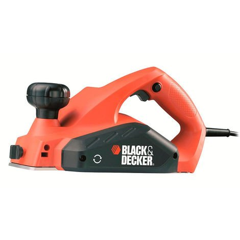 Black & Decker KW712 Elektro Hobel 650 W - 82 mm