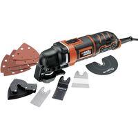 Black & Decker MT300KA MT300KA-QS Multifunktionswerkzeug inkl. Zubehör, inkl. Koffer 13teilig 300W D74106