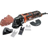 Black & Decker MT300KA MT300KA-QS Outil multifonction + accessoires, + mallette 13 pièces 300 W