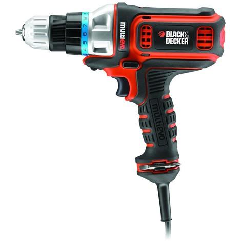 Black & Decker MultiEvo MT350K Elektro-Multifunktionswerkzeug - 300 W - Set aus Grundeinheit + Bohrschrauber-Kopf Black & Decker - 5380