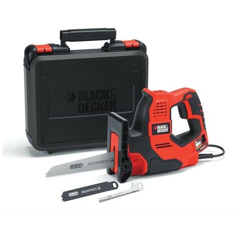 Black Decker RS890K Autoselect Scorpion Saw Recip Jigsaw 500W Cased RS890K-GB