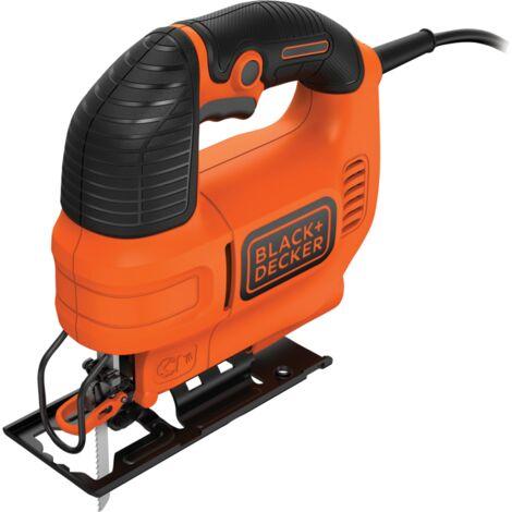 BLACK+DECKER Stichsäge KS701E, orange/schwarz, 520 Watt