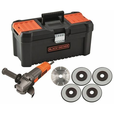 Black & Decker Winkelschleifer 125 mm, 900W - BEG220KA5-QS