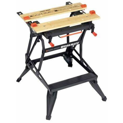 Black + Decker Workmate 610x250mm, 136mm,Vertikalzwinge - WM550-XJ