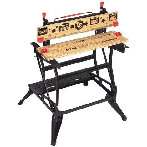 Black & Decker Workmate WM825 Vertical Clamp Dual Height Deluxe Work Bench
