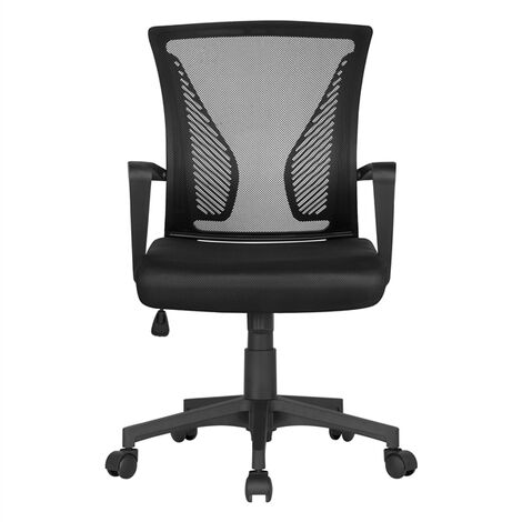 Black Desk Chair Executive Computer Office Chair Black