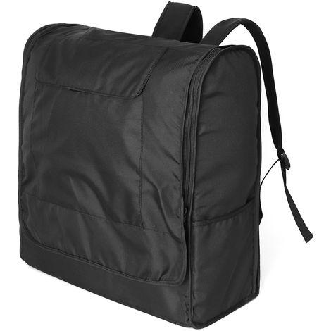 Black Foldable Stroller Stroller Travel Bag Carrying Case For Babyzen For Yoyo + For Volvo