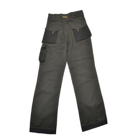 Black & Grey Holster Work Trousers