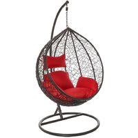 Black Hanging Egg Chair