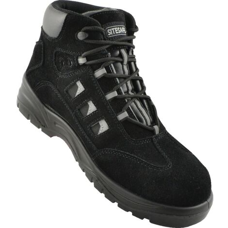 Black Hiker Safety Boots
