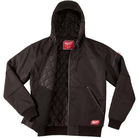 Black Hooded Jacket Milwaukee WGJHBL XXL Size 4933459439