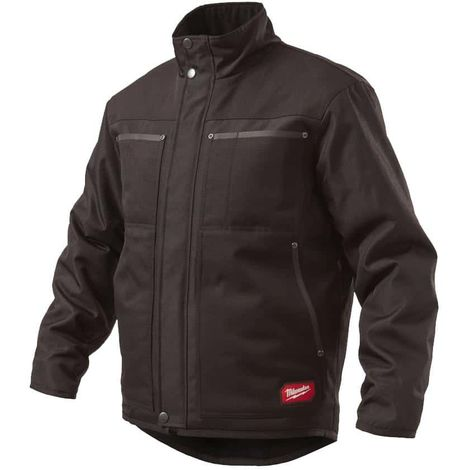 Black Milwaukee Military Jacket WGJCBL Size S 4933459699