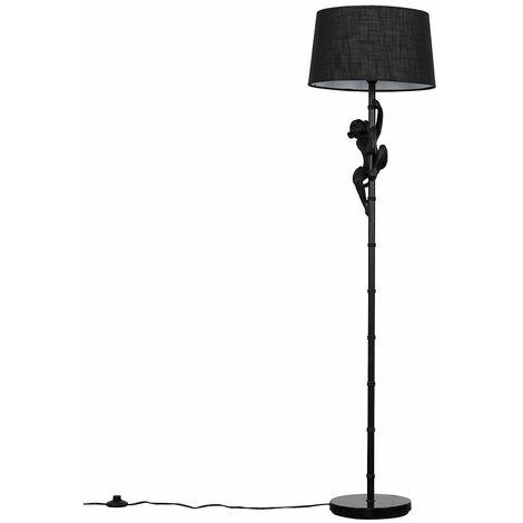 Black Monkey Floor Lamp Light Shades - Dark Grey