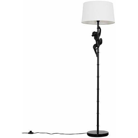 Black Monkey Floor Lamp Light Shades + LED Light Bulb