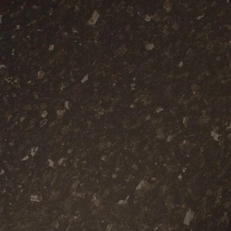 Black Nimbus Granite Effect Laminate Edging Strip 1530mm X 45mm