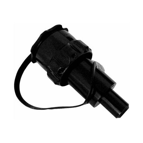 Black Petrol Anti Spill Spout For Rocwood Chainsaw Combi Combination Fuel Can